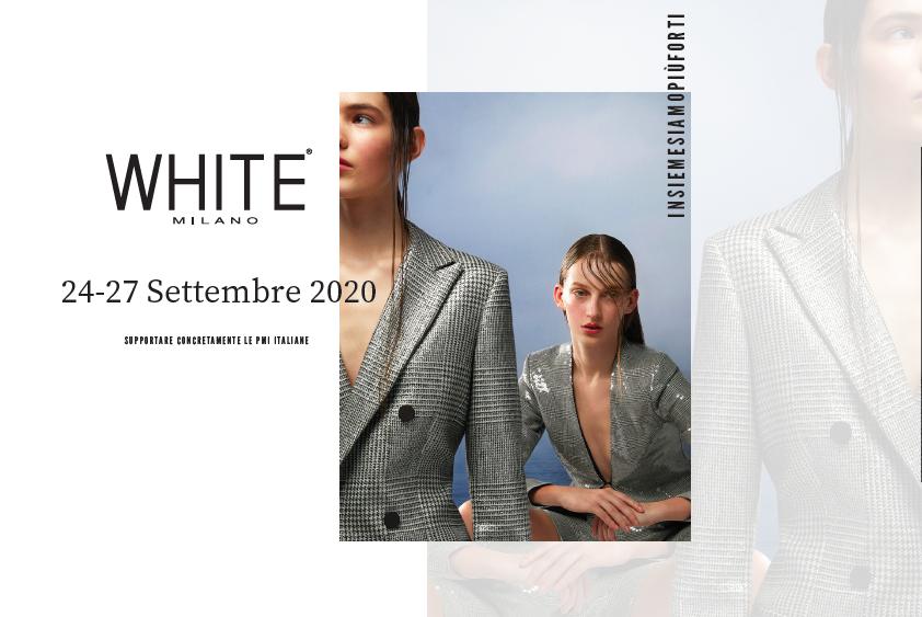white milano settembre 2020